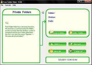 Free Folder Hider