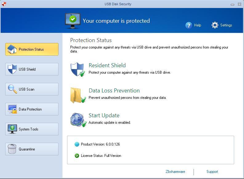 USB Disk Security 6 Screenshot