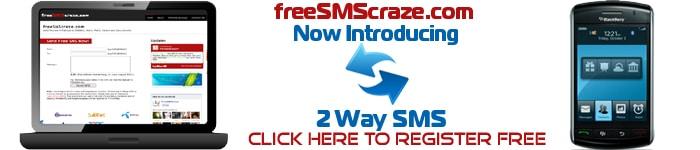 Free Sms Craze