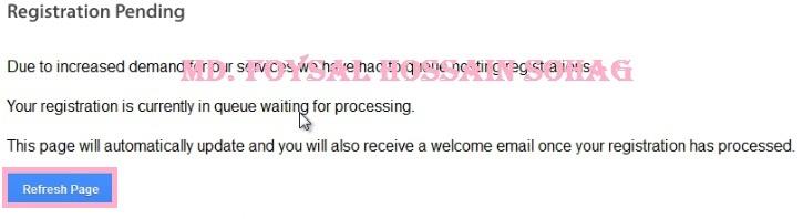 Free Hosting Registration 10