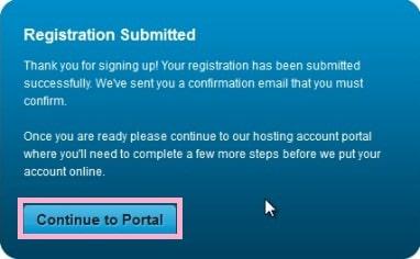Free Hosting Registration 3