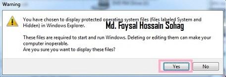Show Hidden Files and Folders 3