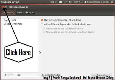 Ubuntu Bangla Keyboard - Provat - 5