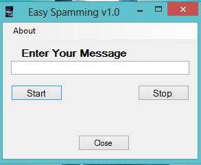 Easy Spamming v1.0