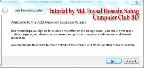 Use Windows Explorer as FTP (2)