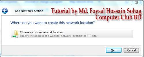 Use Windows Explorer as FTP (3)