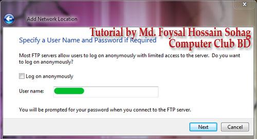 Use Windows Explorer as FTP (5)