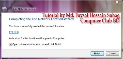 Use Windows Explorer as FTP (7)