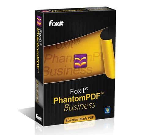 Foxit Phantom pdf Business 6 - Full Version