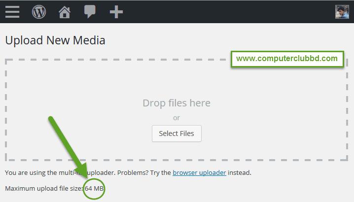 Extend Upload Limitation