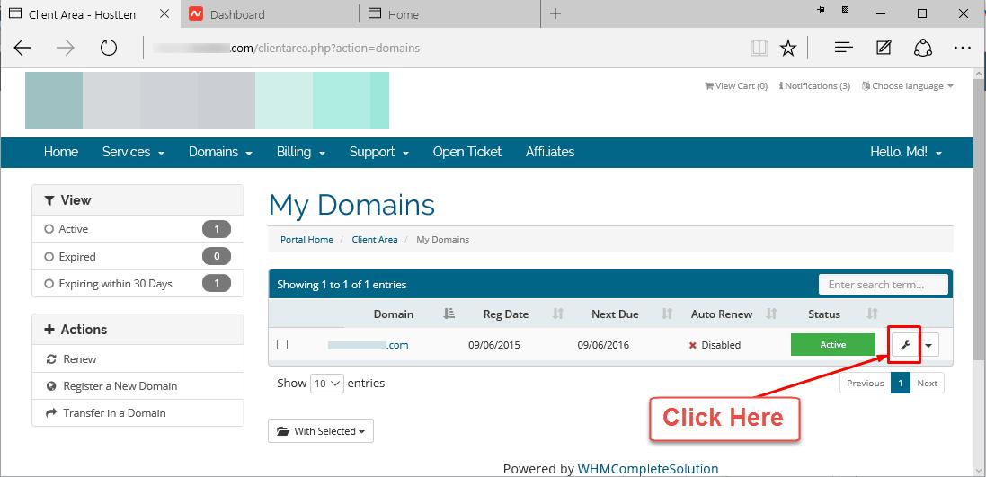 Get Epp Code from Client Portal